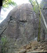 Rock Climbing Photo: Narrowing Experience