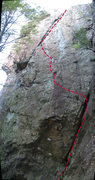 Rock Climbing Photo: Locomotive Breath