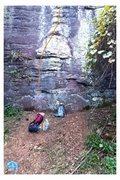 Rock Climbing Photo: Showing poop deck.