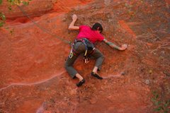 Rock Climbing Photo: red rock canyon open space, colorado springs,co