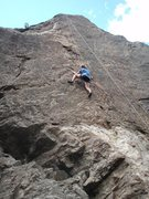 Rock Climbing Photo: Some top rope action