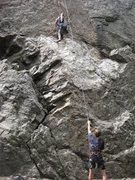 Rock Climbing Photo: World class belayer.