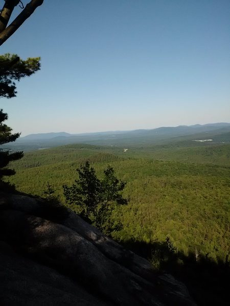 Rock Climbing Photo: View from the top towards Conway