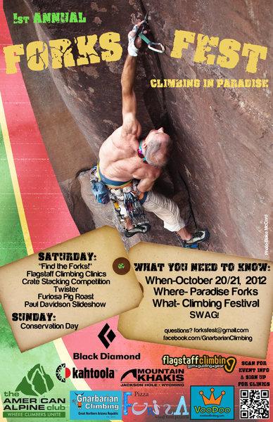 Rock Climbing Photo: Poster