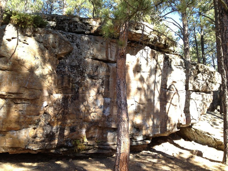 Rock Climbing Photo: I thought this boulder was called the Thelonius Bo...