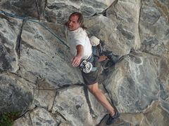 Rock Climbing Photo: Delirious the Steepest 12b in California