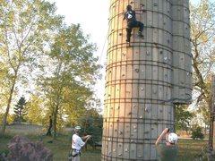 Rock Climbing Photo: dry tooling again