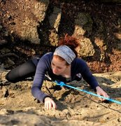 Rock Climbing Photo: One of the first walls I climbed in the Palisades!