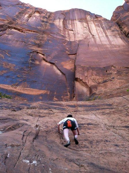 Rock Climbing Photo: This was my biggest climb yet!
