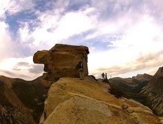 Rock Climbing Photo: Summit block.