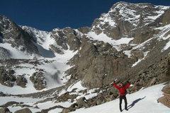 Rock Climbing Photo: RMNP, Taylor Peak