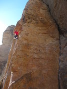 Rock Climbing Photo: Below the roof on Racing Babies.