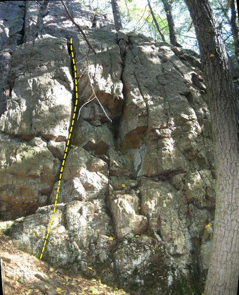 Rock Climbing Photo: Fissureman.