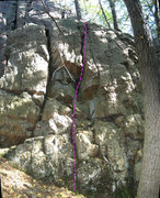 Rock Climbing Photo: Spine Tingler.