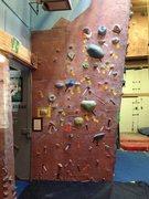 Rock Climbing Photo: crimp problem, stuck at 8.