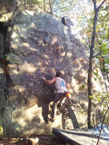 Rock Climbing Photo: Vinny on Hybrid Wanderer.