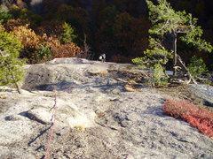 Rock Climbing Photo: Matt Peer chasing the sun!
