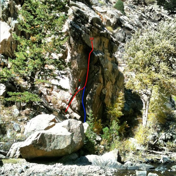 Rock Climbing Photo: Fully Automatic is the red line and Semi-Automatic...