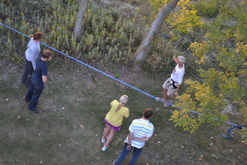 Rock Climbing Photo: Slack Line too