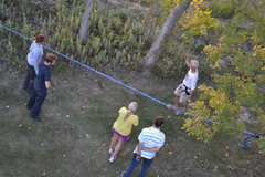Rock Climbing Photo: Slack Line too