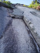 Rock Climbing Photo: Old Route P2