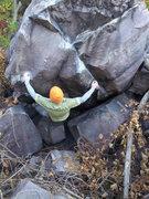 Rock Climbing Photo: Vinny on Dude, where's my keys.