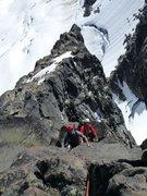 Rock Climbing Photo: King Grant and his partner enjoying the fine expos...