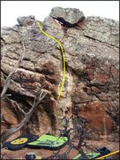 Rock Climbing Photo: Saab-Like Ergonomics problem.