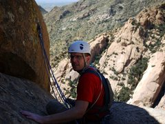 Rock Climbing Photo: The 5th pitch anchors are easy to miss as you clim...