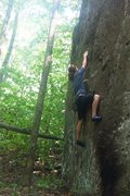 Rock Climbing Photo: Bouldering back home in VA  White oak canyon