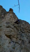 Rock Climbing Photo: the nose at the top is the bouldery problem crux f...