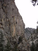Rock Climbing Photo: Nice face climbing.