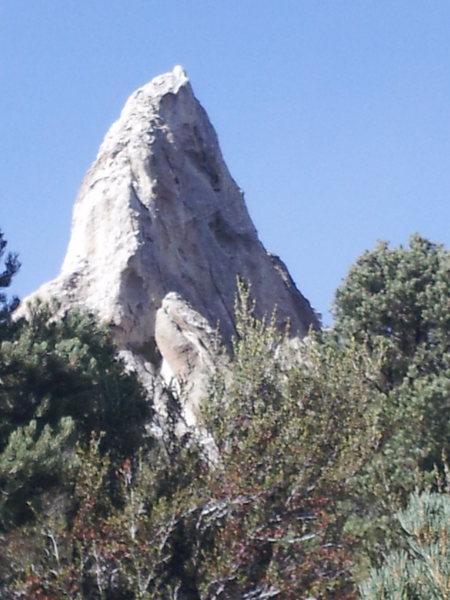 Rock Climbing Photo: The sandcastle.