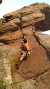 Rock Climbing Photo: The Golden Stair