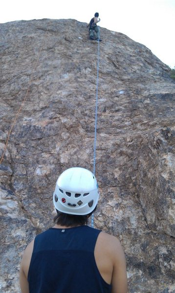 Rock Climbing Photo: Chossy