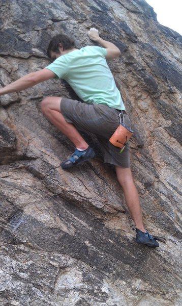 Fun boulder