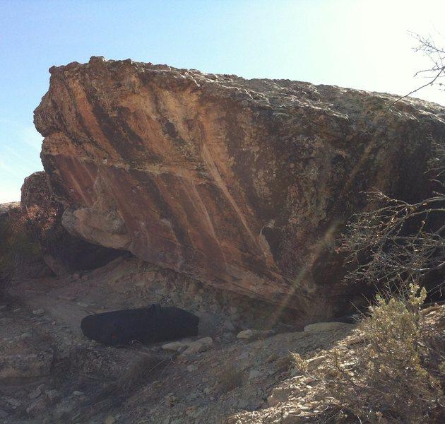 Rock Climbing Photo: Lancer Boulder.