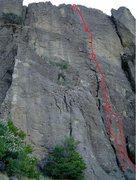 Rock Climbing Photo: Aloha topo.