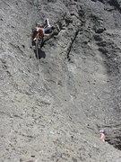 Rock Climbing Photo: Doniel Drazin on Double Top Secret