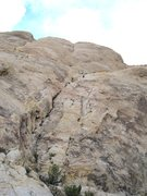 Rock Climbing Photo: Near The belay P2