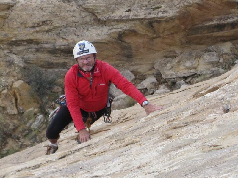 Rock Climbing Photo: Following P3