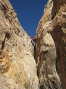 Rock Climbing Photo: The gully struggle to the easy scramble to thye Mi...