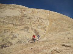 Rock Climbing Photo: Below P1 The Milky Way