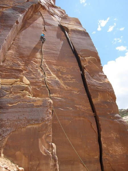 Rock Climbing Photo: Blue Sun