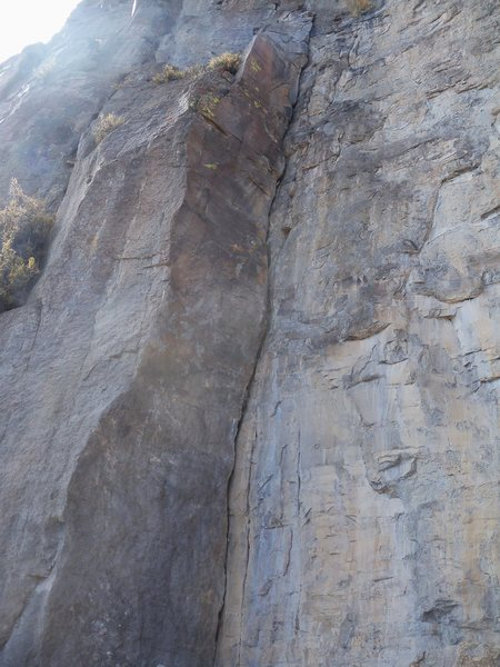 Rock Climbing Photo: Upper section