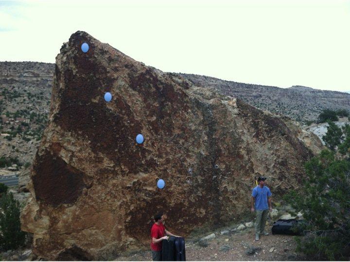 Rock Climbing Photo: Maybe Just a Slab beta.