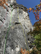Rock Climbing Photo: 1.Terminalogical Inaxtitude 5.10b/c  2.Gills grace...