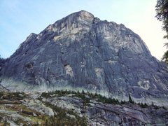 Rock Climbing Photo: Lion's Head North Face