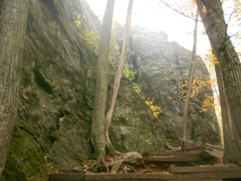 5.8 crag left side