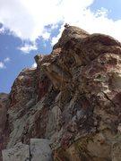 Rock Climbing Photo: Up